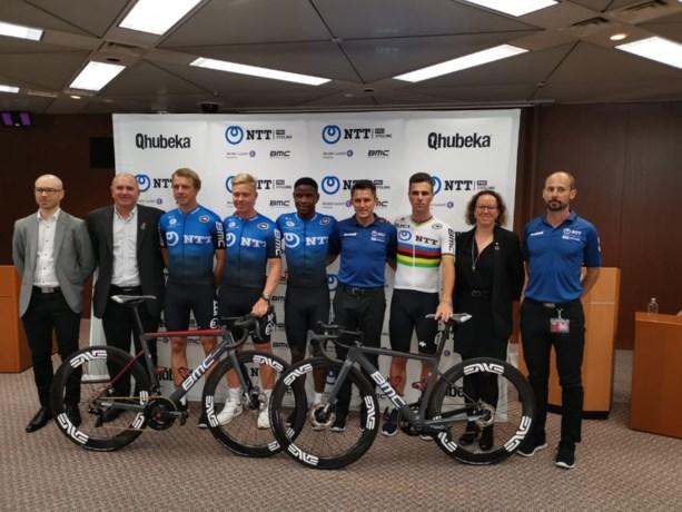 Nieuwe ploeg van Victor Campenaerts fietst volgend jaar in het blauw en zwart