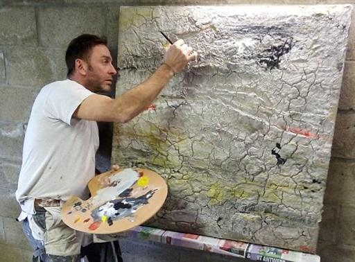 Schepen schildert voor ziekenzorgkernen (Glabbeek) - Het Nieuwsblad