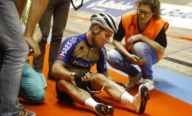 Mark Cavendish komt hard ten val tijdens de Zesdaagse van Gent, Kenny De Ketele en Robbe Ghys bevestigen favorietenstatus