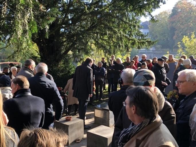 Joods monument al voor vijfde keer beschadigd