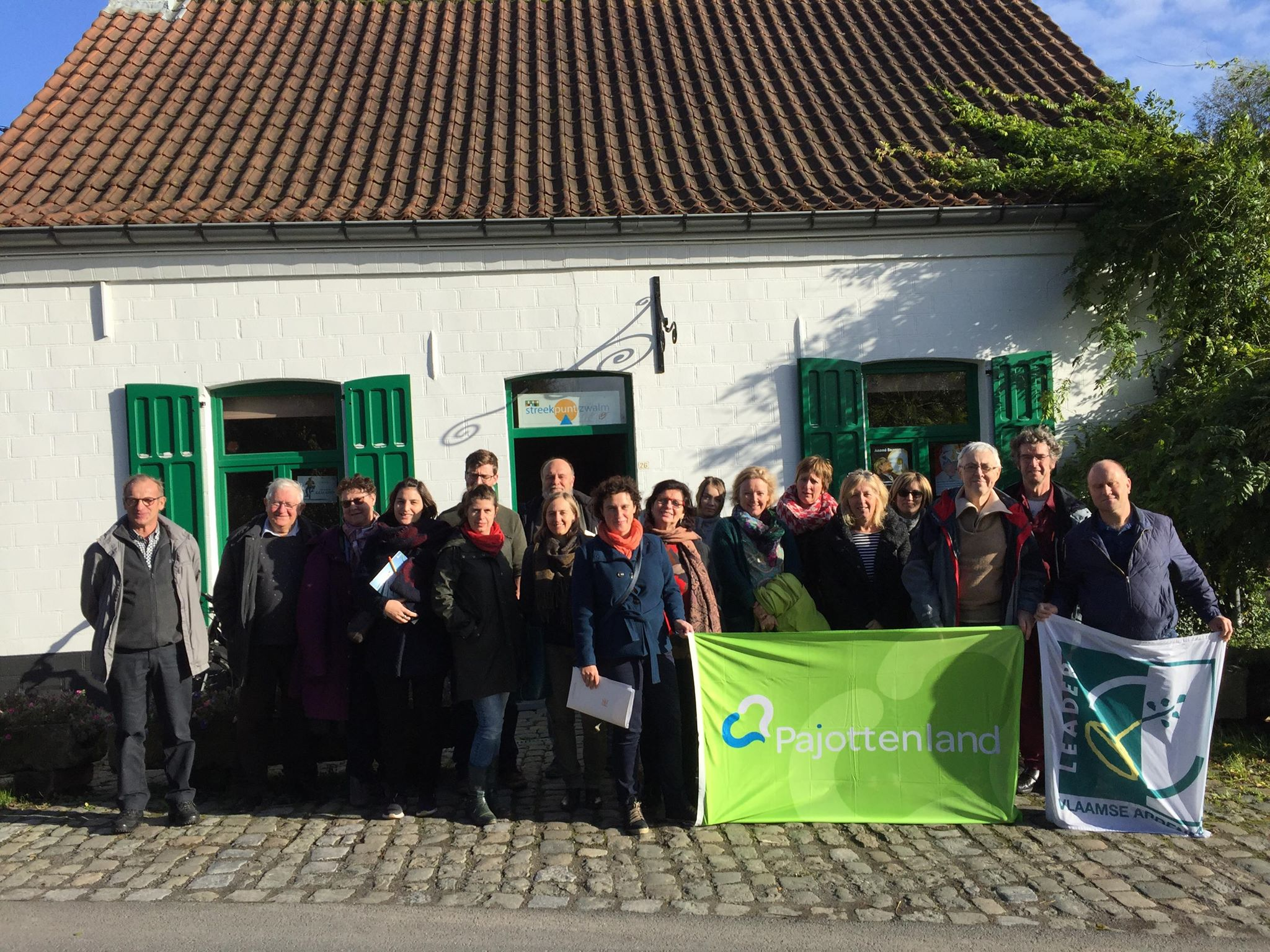 Pajotse ondernemers op uitwisseling in Vlaamse Ardennen