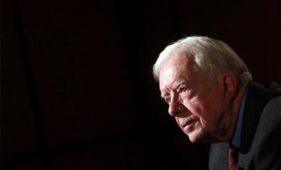 Oud-president Jimmy Carter in het ziekenhuis na val