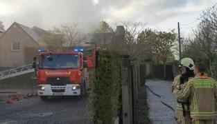 Vrouw met ademhalingsproblemen overgebracht naar ziekenhuis na brand in keuken