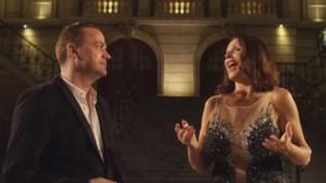 Steve Tielens en Wendy Van Wanten lanceren clip bij duet 'Jij hoort bij mij'