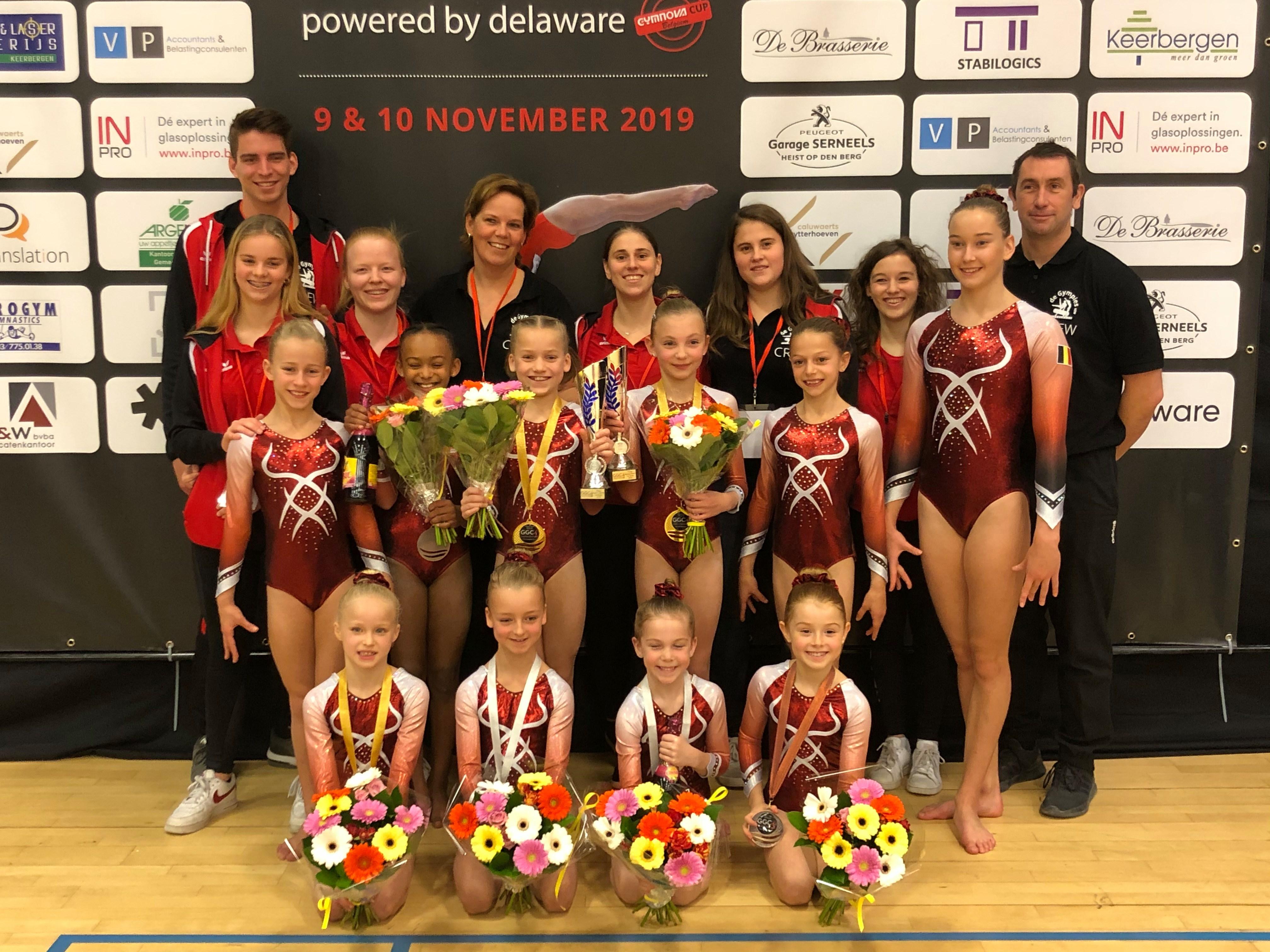 Gympies-gymnasten schitteren op eigen Gymnovacup (Keerbergen) - Het Nieuwsblad