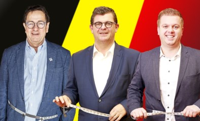"""Bart Tommelein en collega-burgemeesters binden de strijd aan tegen elkaar en de kilo's: """"Al ga ik nooit een fotomodel worden"""""""