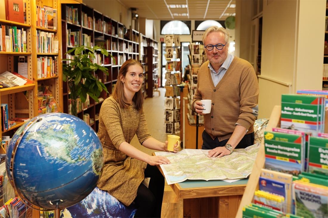 """Reisboekhandel Atlas & Zanzibar zit in 't nieuw: """"Buitenlandse klanten vinden hier kaarten die nergens anders te koop zijn"""""""