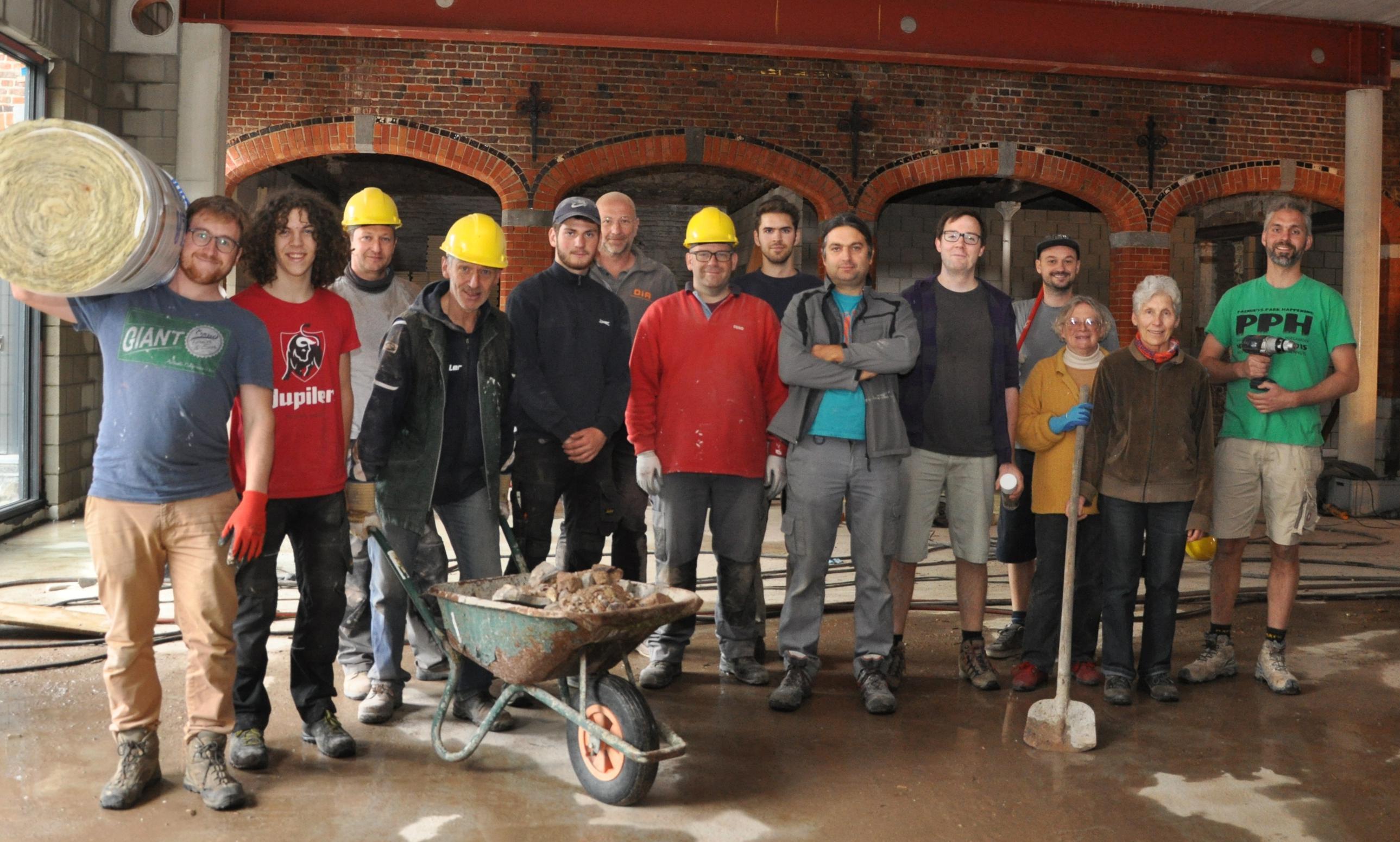 Race tegen de klok voor renovatie van Parochiecentrum