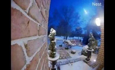 Indrukwekkend zicht: meteoor klieft door de nachthemel