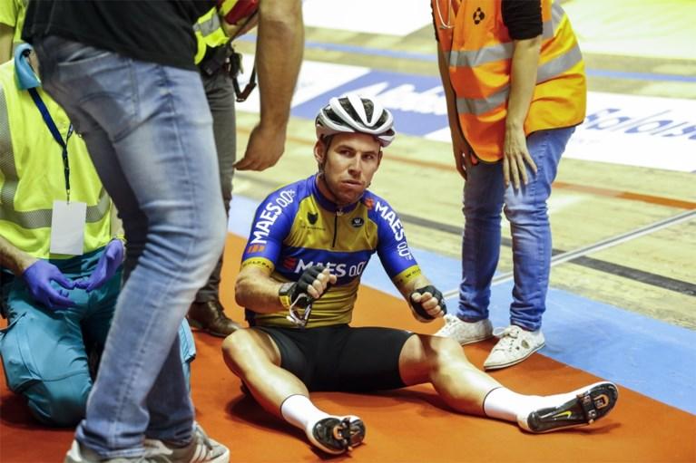 Goed nieuws over gevallen Gerben Thijssen: geen blijvende schade na zware val in Zesdaagse van Gent
