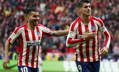 Atletico-spits herleeft na sombere periode in Londen