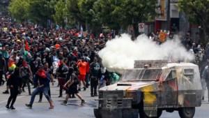 Meer dan 200.000 Chilenen komen op straat