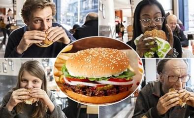 GETEST. Burger King lanceert vegetarische Whopper: proef je een verschil?