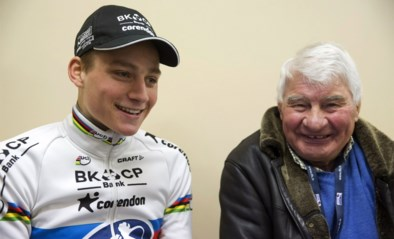 """Mathieu van der Poel rouwt om overlijden grootvader Poulidor: """"Altijd zo fier"""""""
