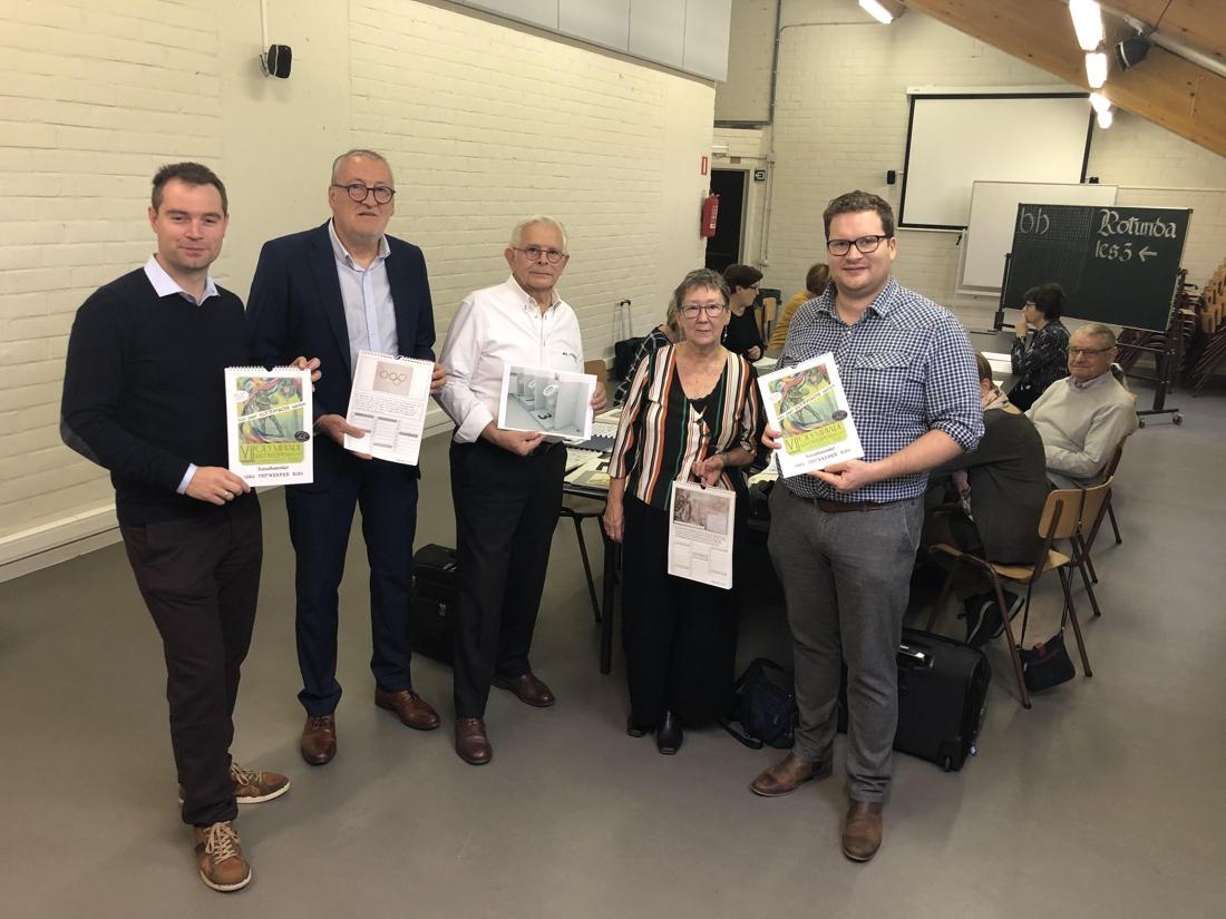 Kalligrafievereniging presenteert kalender en expo rond Olym... (Aartselaar) - Het Nieuwsblad