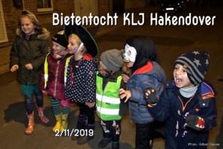 VIDEO. Bietentocht bij jeugdbeweging Hakendover