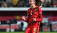 Maak kennis met Tine De Caigny, de Red Flame die vijf keer scoorde in één interland