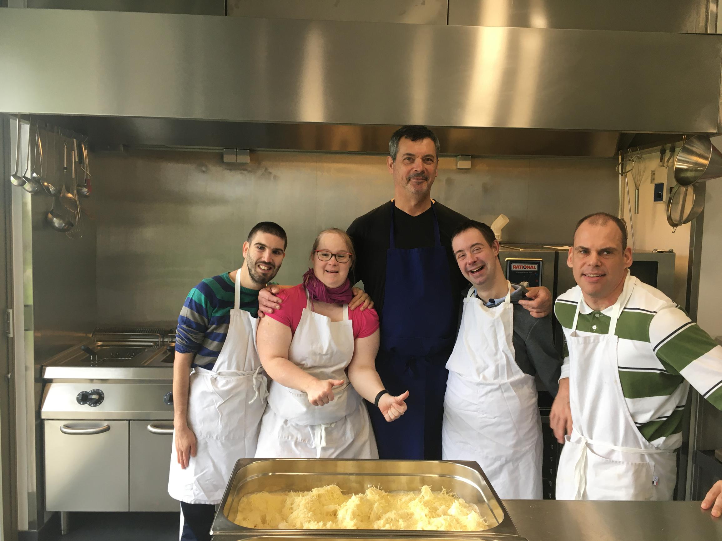 Druivenstreek werkt samen voor nieuwe keuken De Berken - Het Nieuwsblad