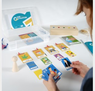 Gamechanger, een spel over burgerschap en democratie voor jongeren in Brieljant
