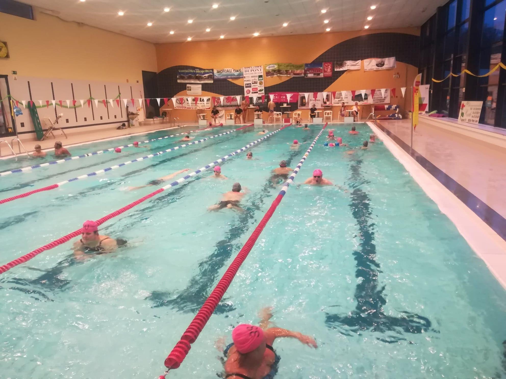 Leeuw trekt de stekker uit jaarlijkse zwemmarathon (Sint-Pieters-Leeuw) - Het Nieuwsblad