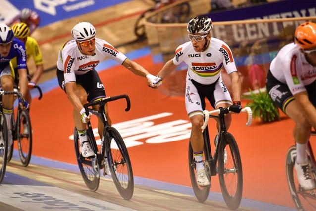 Roger Kluge en Theo Reinhardt op kop na tweede avond van Gentse Zesdaagse, Cavendish wint dernyrace