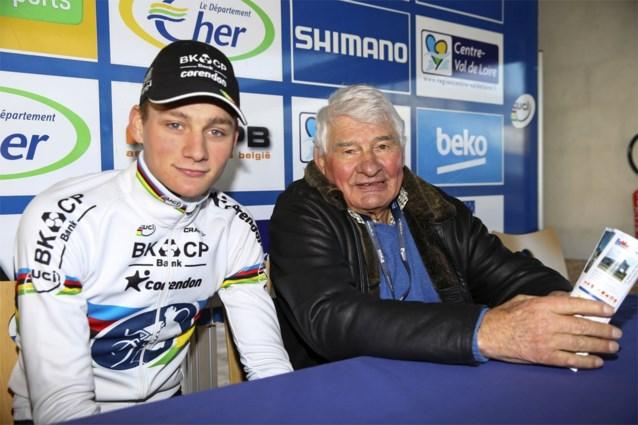 Mathieu van der Poel deelt ontroerend dubbelportret met grootvader Poulidor