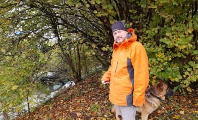 Bizar ongeval in Roeselare: verwarde 83-jarige vrouw rijdt wandelpad op en belandt in beek