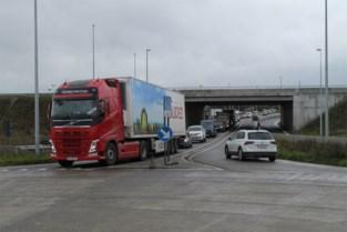 Aanschuiven geblazen door nieuwe fase werken verkeerswisselaar