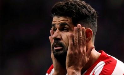 Diego Costa staat aan de kant met een nekhernia
