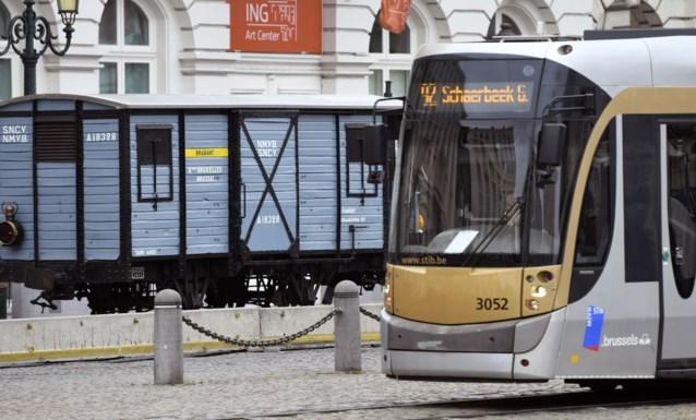 Studente door tram aangereden in Ukkel