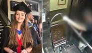 Het moment waarop verdachte van moord op rugzaktoeriste (22) haar lijk wegbrengt in een piepkleine koffer