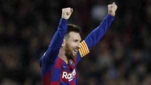 Lionel Messi vroeg slechts één keer in zijn carrière zelf het shirt van een tegenstander