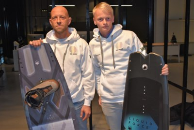 """Aannemer en inkoper verdedigen onze driekleur op WK wakeboarden: """"Mijn eerste WK op mijn 41ste"""""""