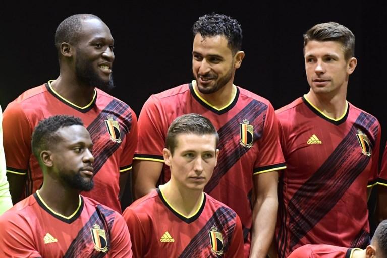 """Niet alleen Russen maar ook Rode Duivels hebben foute volgorde kleuren op hun shirt: """"Wij gaan er niet over klagen"""""""