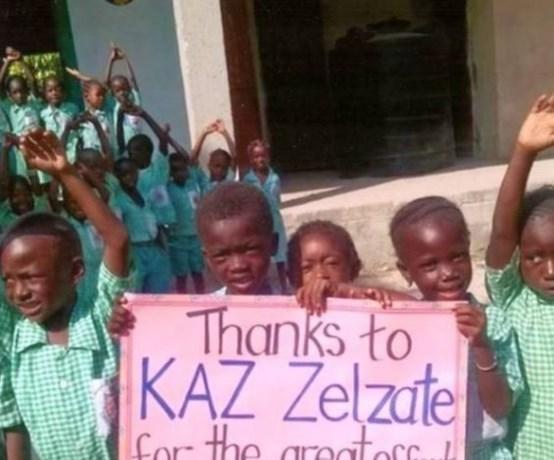 Lesmarathon ten voordele van Gambiaanse school