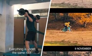 """Wout van Aert deelt knappe video met beelden van training tijdens revalidatie: """"Trots op wat ik al bereikt heb"""""""