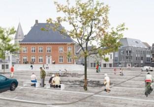 Maquette toont stadskernvernieuwing, die in maart start