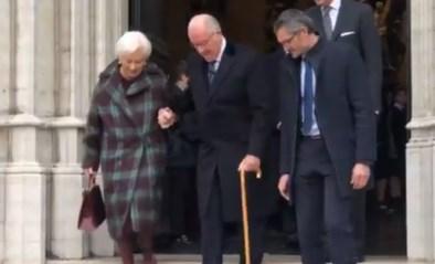 Koning Albert zeer slecht ter been en kan trappen van kathedraal niet meer af om volk te groeten