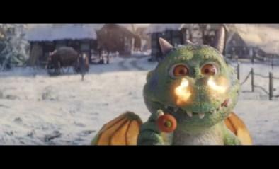 Babydraakje verpest Kerstmis in nieuwe reclamespot, tot hij je hart doet smelten