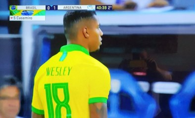 Wesley Moraes (ex-Club Brugge) beleeft hoogdag: zingen voor Braziliaanse sterren en invallen voor de Goddelijke Kanaries
