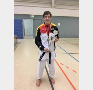 Michiel Vlaminck pakt brons op JKA Cup in Bottrop