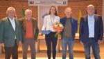 Vice-wereldkampioene Julie De Wilde gehuldigd