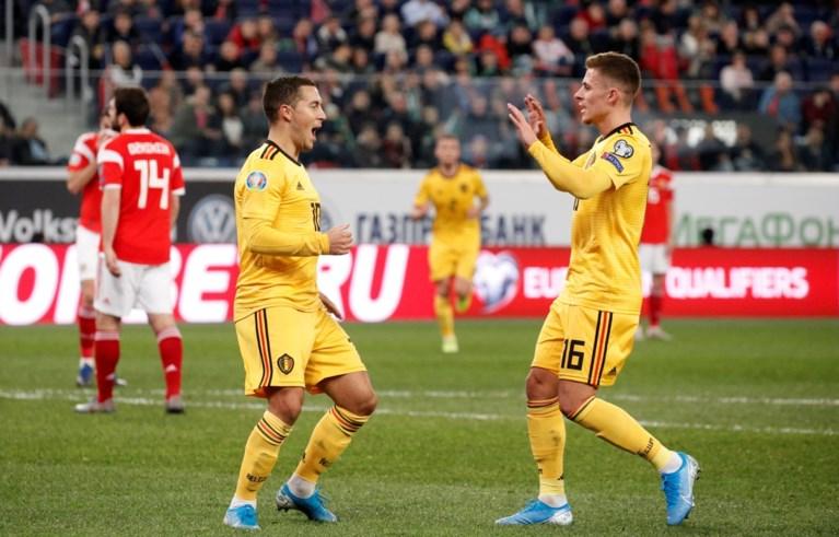 Broertjes Hazard loodsen Rode Duivels naar overtuigende zege tegen Rusland: Belgen zijn groepswinnaar