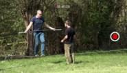Johan (35) leert Gert Verhulst koorddansen voor 'De Battle'