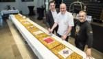 Hotel Mercure verkoopt vijf meter taart voor goede doelen