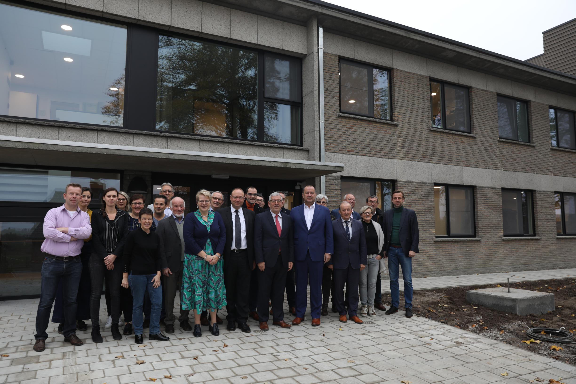Na twee jaar renoveren is het nieuwe woon-zorgcentrum op de Karmel klaar