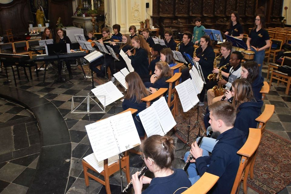 Twee jeugdbands vieren Sint-Cecilia
