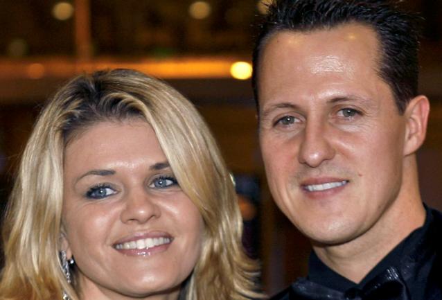 """Corinna Schumacher na uithaal ex-manager: """"Michael wenst dat zijn gezondheidstoestand geheim blijft"""""""