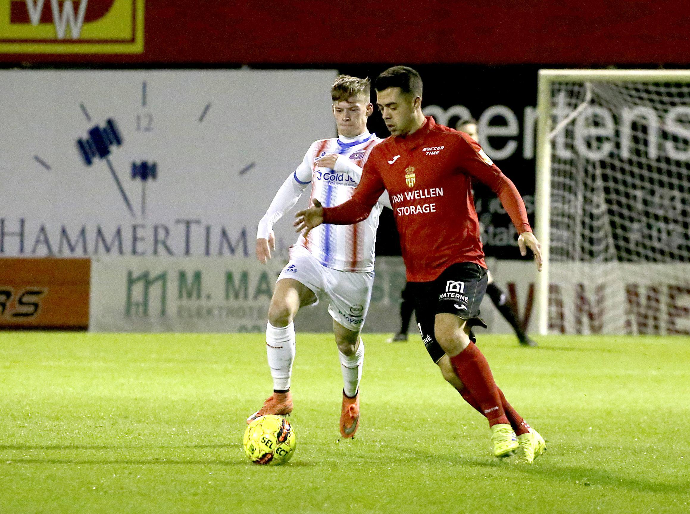 """Jonas Van Kerckhoven rekent na nul op zes op puntenwinst:""""Topper is ideale kans op eerherstel"""" - Het Nieuwsblad"""