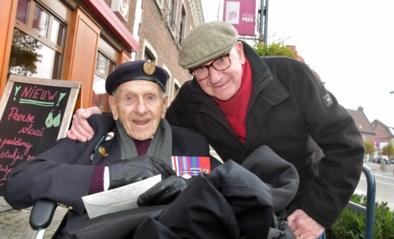 Britse oorlogsveteraan George (97) keert door ongelooflijk toeval terug naar bakkerij waar hij 75 jaar geleden verbleef